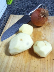 Step 1: Potatoes