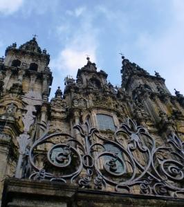 Catedral en Santiago de Compostela